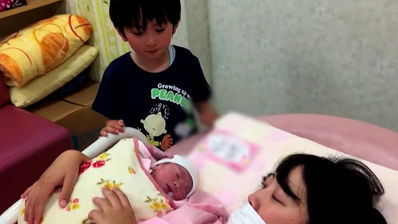 感動の長女出産!【太陽5歳の立会い出産】Baby Birth Childbearing